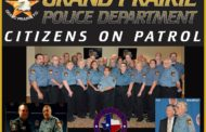 Grand Prairie PD Citizens on Patrol Wins the Large COP Agency of the Year Award - Fourth Year In a Row