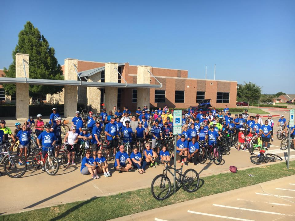 "Cyclin' with the Mayor ""Back the Blue"" Has Record Turnout"