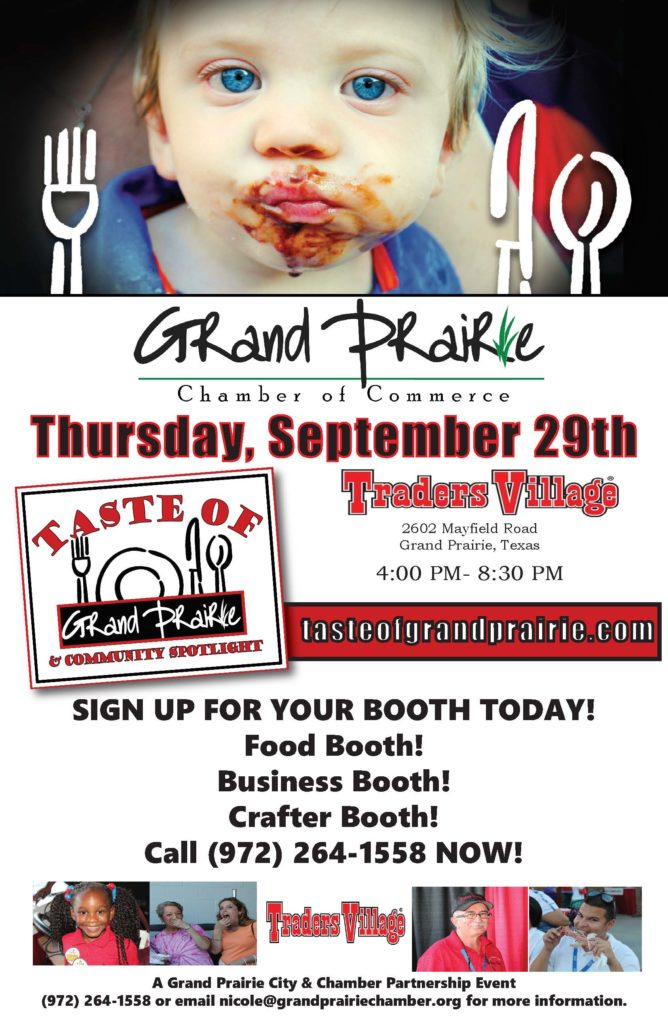 Taste of Grand Prairie Sign Up
