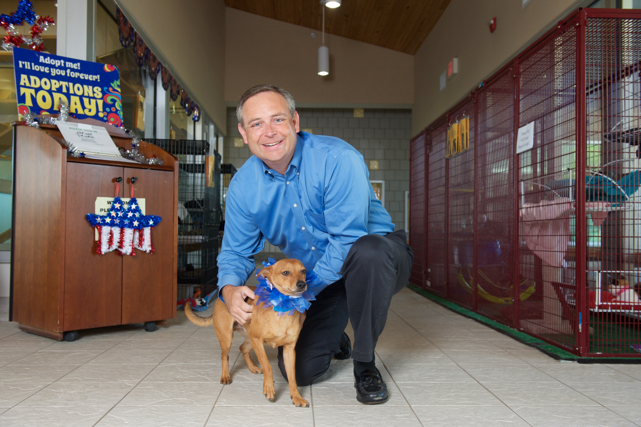 Texas Rep. Partners with Prairie Paws Animal Shelter to Promote $4 Adoptions