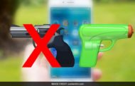 Surrender Your Weapons: Apple Ditches Pistol for Water Gun
