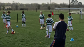 Celtic FC Goes To Crossroads Christian Church